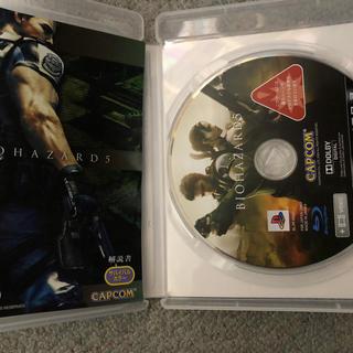 プレイステーション3(PlayStation3)のバイオハザード5.6 ps3(家庭用ゲームソフト)