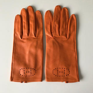 Hermes - エルメス レザー グローブ エブリン 手袋 正規品 7サイズ