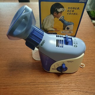 オムロン(OMRON)のオムロン スチームさわ 箱、説明書あり(加湿器/除湿機)