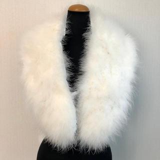 フェザー 羽根羽毛 ショール 振袖・成人式・お正月 和装着物(振袖)