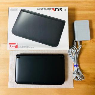 ニンテンドー3DS(ニンテンドー3DS)の3DSLL本体(ブラック)(携帯用ゲーム本体)