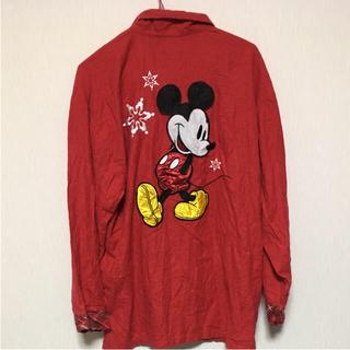 ディズニー(Disney)のシャツ DISNEY ディズニー ミッキー(シャツ)