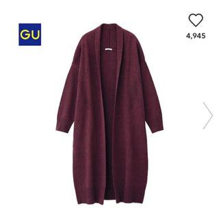 GU - GUメランジコーディガン
