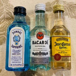 【3本set】お酒・リキュール ミニボトル❤️NY産(リキュール/果実酒)