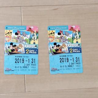 ディズニー(Disney)のディズニー リゾートライン 2Dayチケット(鉄道乗車券)