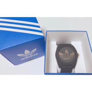 アディダス(adidas)のadidas時計 黒 値下げ(腕時計)