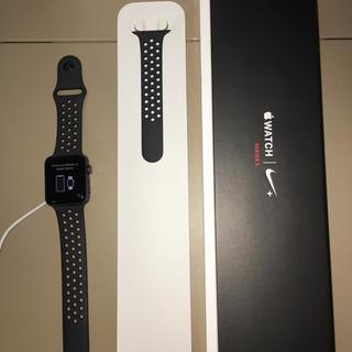 アップルウォッチ(Apple Watch)のアップルウォッチ3 NIKE42mm GPS(その他)