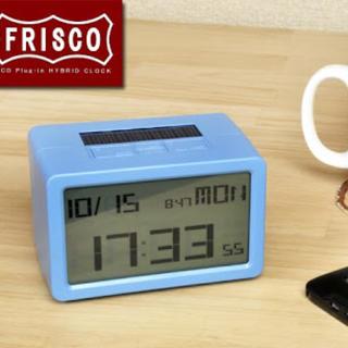 新品 フリスコ デジタル 置時計(置時計)