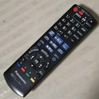 パナソニック(Panasonic)の送料込み パナソニック BDプレーヤーテレビリモコン N2QAYB000578(その他)