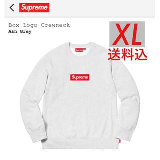 シュプリーム(Supreme)のSupreme box logo crew neck シュプリーム ボックスロゴ(スウェット)