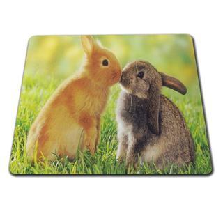 ウサギ うさぎマウスパッド♪ 新品未使用品 送料無料(小動物)