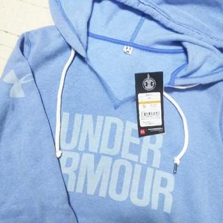 アンダーアーマー(UNDER ARMOUR)の新品SALE!アンダーアーマーS裏起毛パーカー(ジャケット/上着)