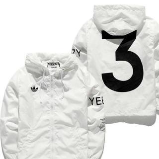 adidas - Yeezus Tour 3 ウインドブレーカー ジャケット 白