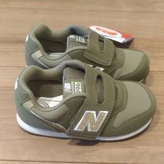 ニューバランス(New Balance)の箱なし ニューバランス ベビー スニーカー 14.5cm グリーン/ゴールド(スニーカー)