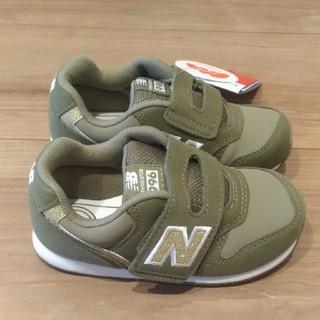ニューバランス(New Balance)の箱なし ニューバランス ベビー スニーカー 15.0cm グリーン/ゴールド (スニーカー)
