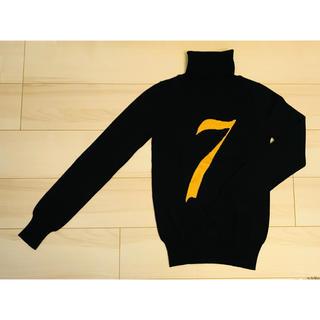 アクアガール(aquagirl)の黒 タートルネック セーター(ニット/セーター)