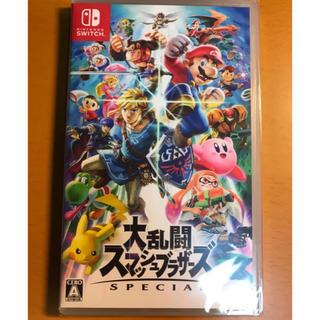ニンテンドウ(任天堂)のスマブラ switch 美品(家庭用ゲームソフト)