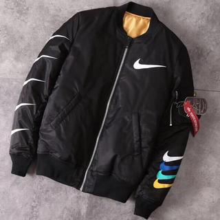 alpha - Alpha X Nike sportswearMA-1フライトジャケット両面着