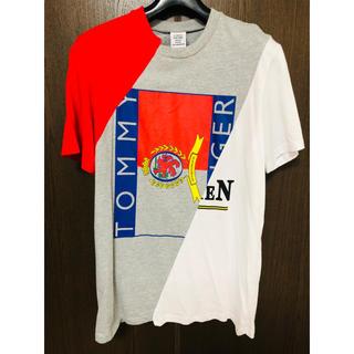 バレンシアガ(Balenciaga)のvetements Tシャツ ヴェトモン Tシャツ L  パーカー(Tシャツ/カットソー(半袖/袖なし))
