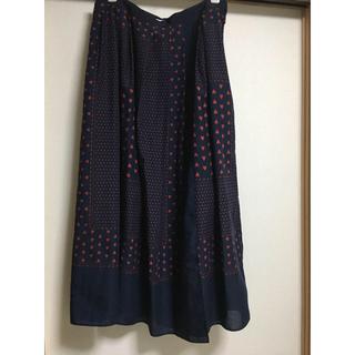サカイラック(sacai luck)の美品 sacai luck スカート(ひざ丈スカート)