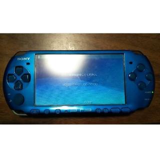 プレイステーションポータブル(PlayStation Portable)のPSP3000本体 ジャンク(携帯用ゲーム本体)