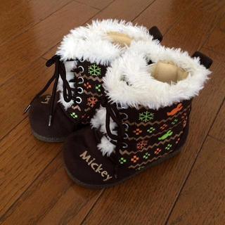 アイアイエムケー(iiMK)の子供ブーツ   14cm   ディズニー(ブーツ)