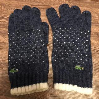 ラコステ(LACOSTE)の【HAM様専用】LACOSTE メンズ手袋(手袋)