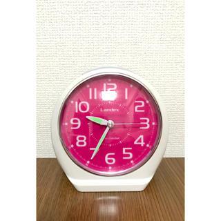 Landex・目覚まし時計(置時計)