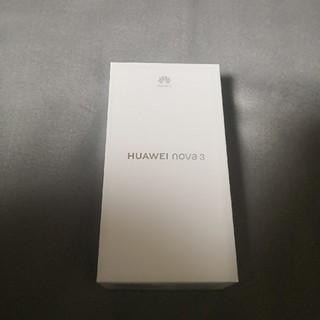 HUAWEI nova3 レッド (スマートフォン本体)