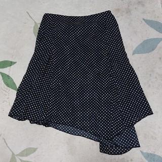インディオ(indio)の水玉スカート(ひざ丈スカート)