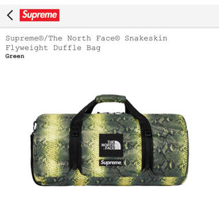 シュプリーム(Supreme)のSupreme/TheNorth Face SnakeskinDuffleBag(その他)