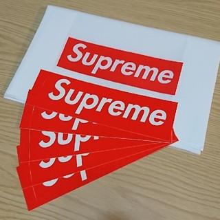 シュプリーム(Supreme)のSupreme box logo ボックスロゴ ステッカー 5枚(その他)