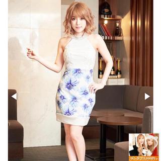 6d17a8648fecd デイジーストア(dazzy store)の花柄パール付きアメスリタイトミニドレス☆