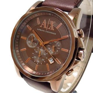 アルマーニエクスチェンジ(ARMANI EXCHANGE)のアルマーニエクスチェンジ AX2090 クロノグラフ クオーツ レザー 革 (腕時計(アナログ))