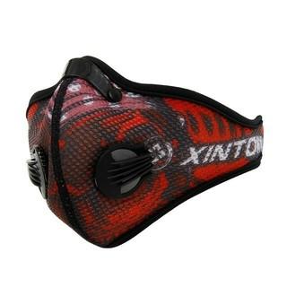 レッド xintown 低酸素マスク トレーニングマスク