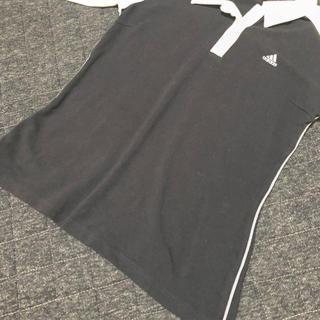 アディダス(adidas)のアディダスの、襟付きシャツ(Tシャツ(長袖/七分))