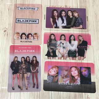BLACKPINK クリアカード(アイドルグッズ)