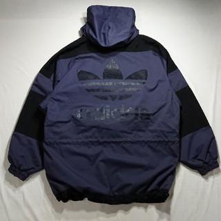 アディダス(adidas)のadidas デサント アディダス アノラック ジャケット ひび割れロゴ 90s(マウンテンパーカー)