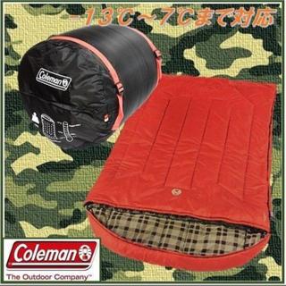 コールマン(Coleman)のマー坊様専用 コールマン 寝袋 2人用シェラフ 耐寒-13℃ (寝袋/寝具)