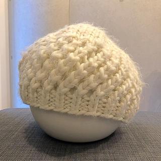 ザラ(ZARA)のお値下げ ZARA ザラ ニット帽 ベレー帽(ハンチング/ベレー帽)