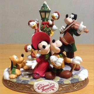 Disney - 1999年の東京ディズニーランドクリスマスの置物と10周年腕時計