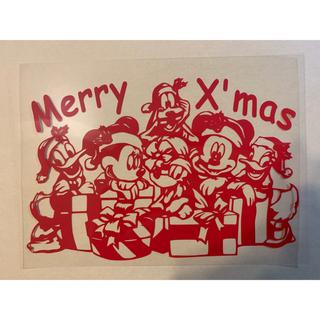 クリスマス☆アイロンシート&ステッカー(キャラクターグッズ)