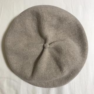 mature ha ギャザーベレー帽(その他)