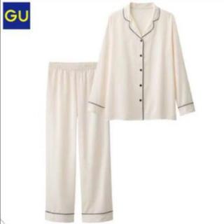 GU - guサテンパジャマ