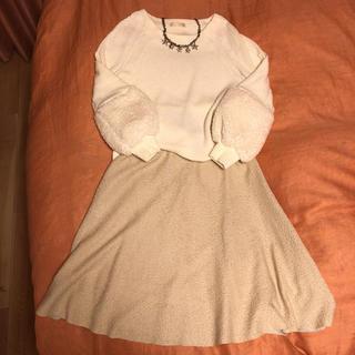 アーモワールカプリス(armoire caprice)のアーモワールカプリス  カットソー&スカート(セット/コーデ)
