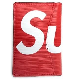 シュプリーム(Supreme)のLOUIS VUITTON × SUPREME 名刺入れ カードケース(名刺入れ/定期入れ)