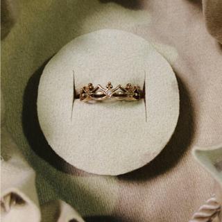 サマンサティアラ(Samantha Tiara)のサマンサティアラ ピンキーリング ダイヤモンド 4号 K18(リング(指輪))