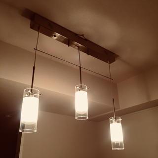 北欧風 3連 ペンダントライト(天井照明)