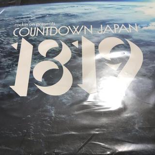 COUNTDOWN JAPAN1819チケット (音楽フェス)