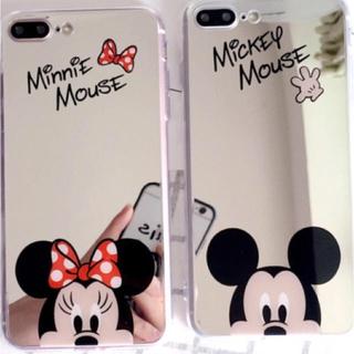 ディズニー(Disney)のミッキー ミニー iPhone7 8 スマホケース (iPhoneケース)